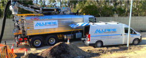 combined jet vac cam operation for drain cleaning in perth